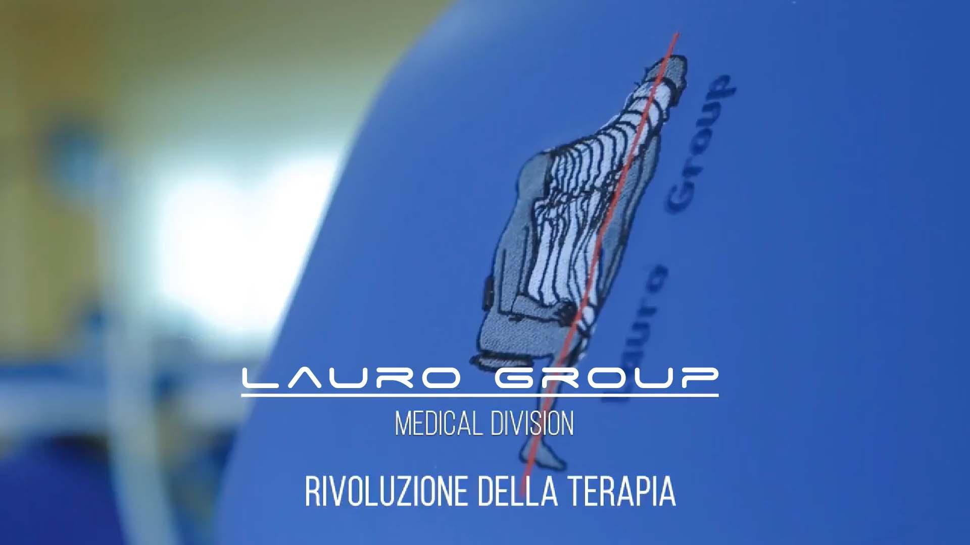 Lauro Group spot - robotica - fisioterapia